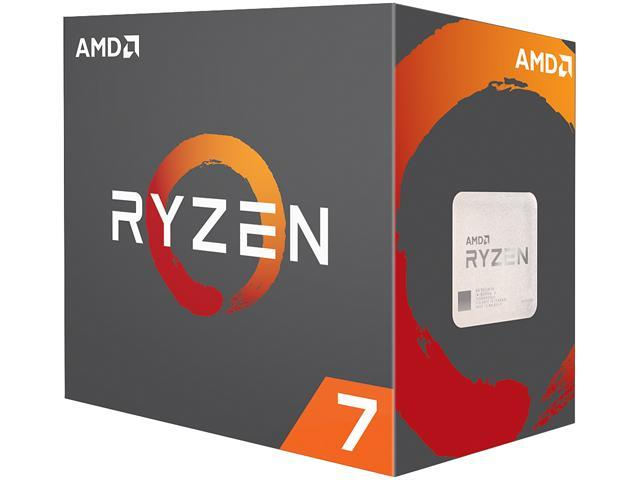 CPU AMD Ryzen 7 1700X 3.4 GHz (3.8 GHz with boost) / 20MB / 8 cores 16 threads / socket AM4 (no Fan)