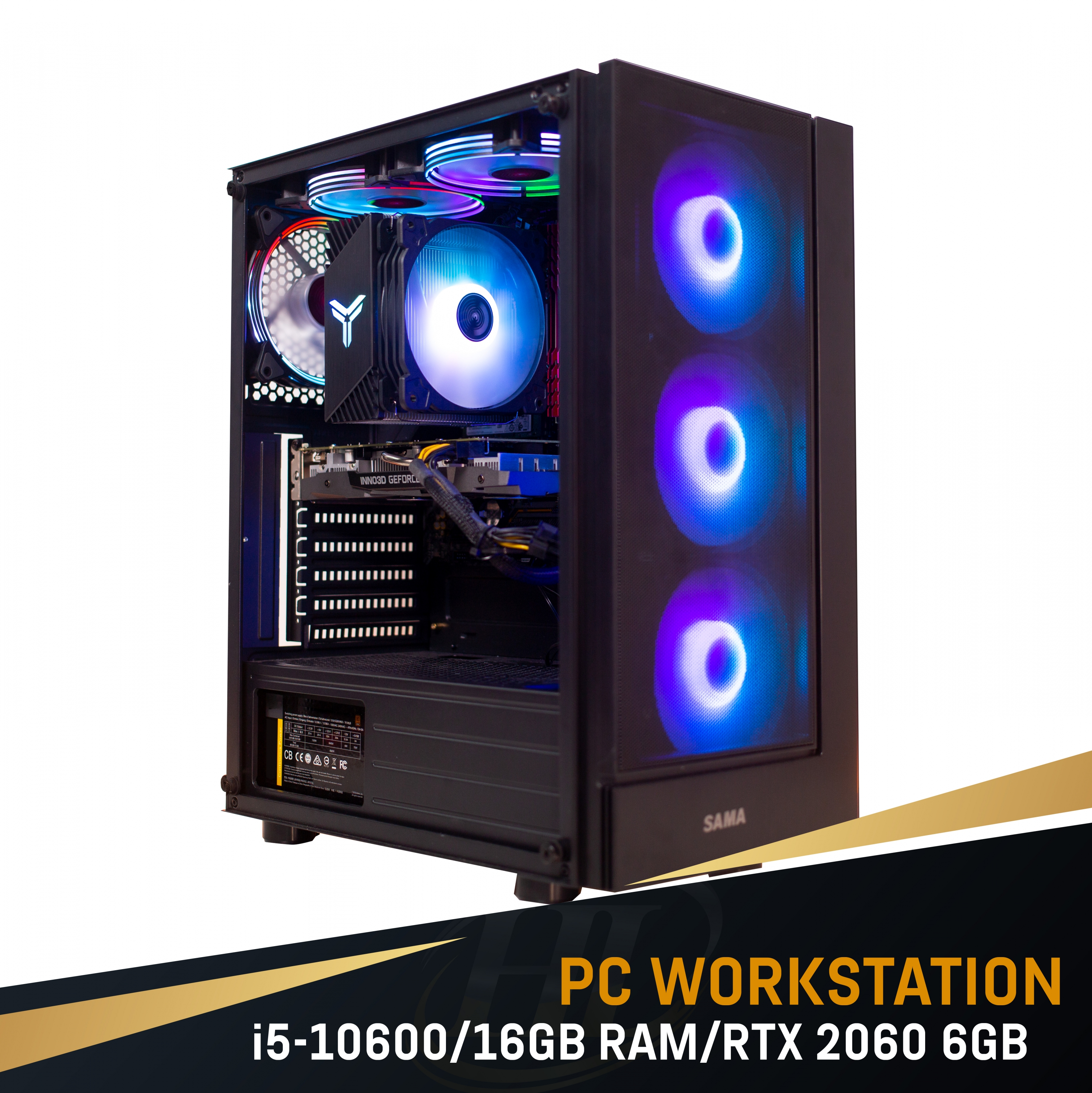 PC Intel I5 10600/Ram 16GB/ VGA RTX 2060 6GB