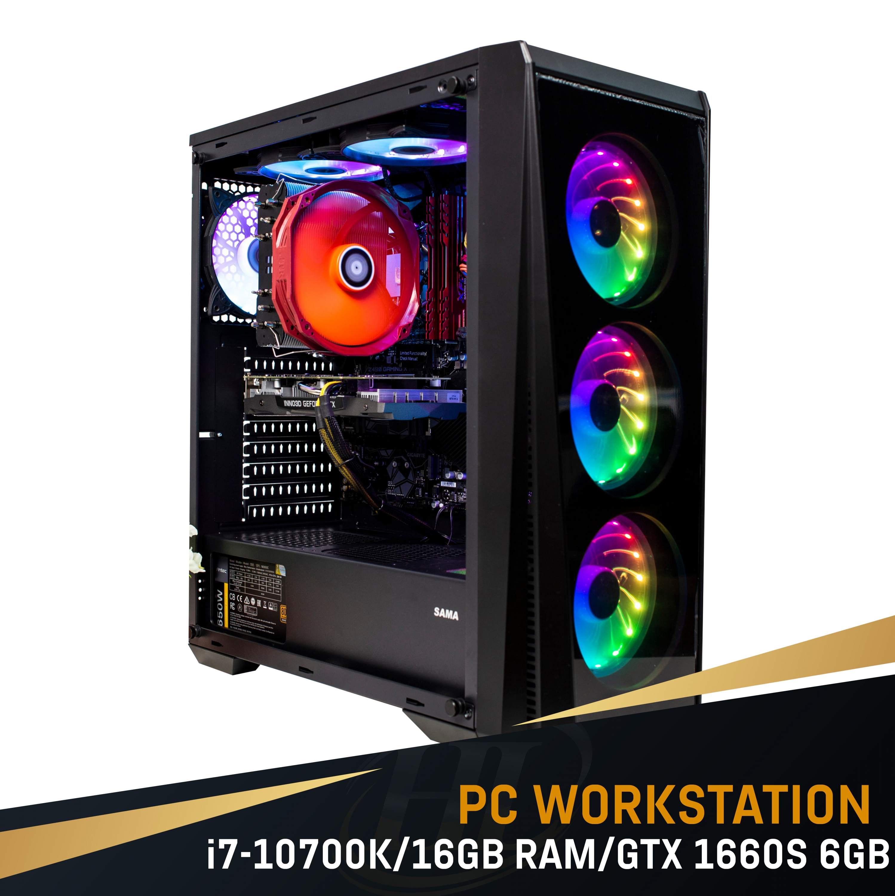 PC Intel i7 10700K/16GB Ram / VGA GTX 1660 Super 6GB