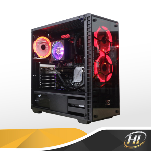 PC AMD Ryzen 7 2700 / RAM 32GB  / VGA GTX 1060 6G Gaming OC