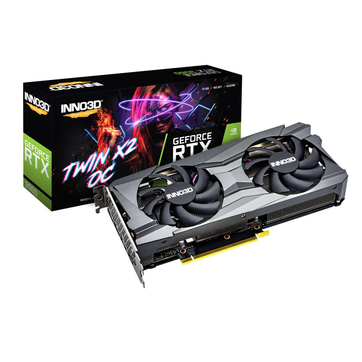 VGA INNO3D GEFORCE RTX 3060 TWIN X2 OC
