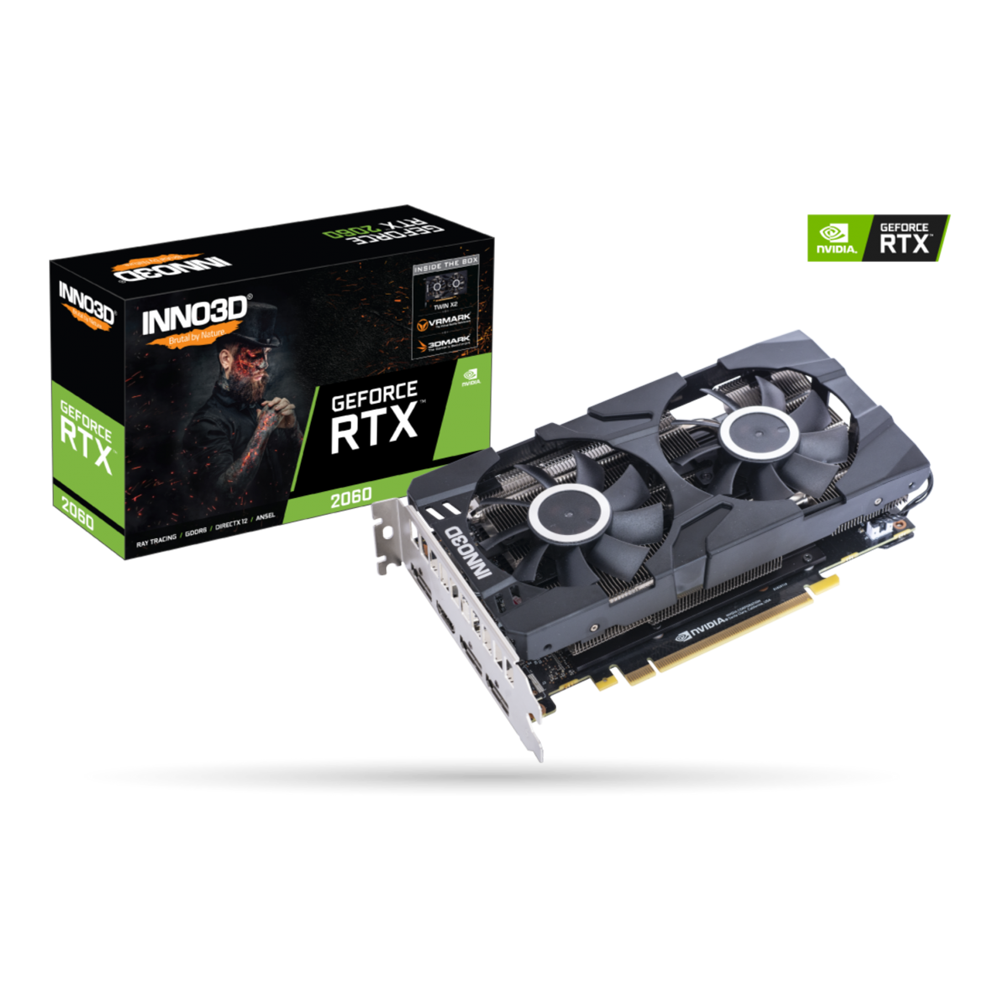 VGA INNO3D GEFORCE RTX 2060 GAMING OC X2 6GB