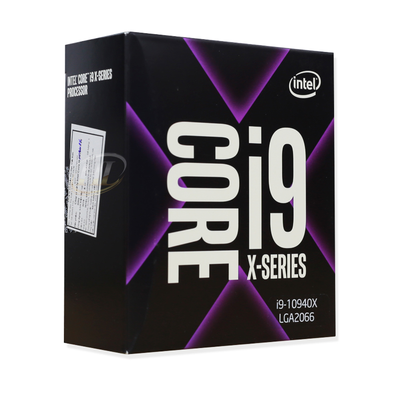 CPU Intel Core i9-10940X Cascade Lake-X (3.3 GHz Turbo 4.6GHz up to 4.8 GHz / 19.25 MB / 14 Cores, 28 Threads)