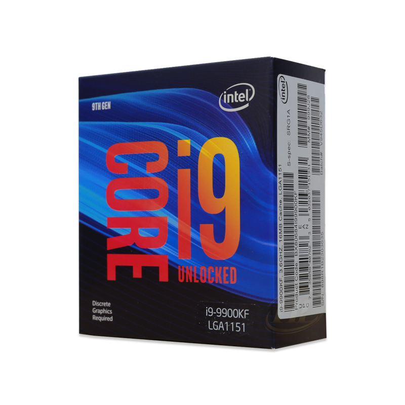 CPU Intel Core i9-9900KF (3.6GHz turbo up to 5.0GHz, 8 nhân 16 luồng, 16MB Cache, 95W)