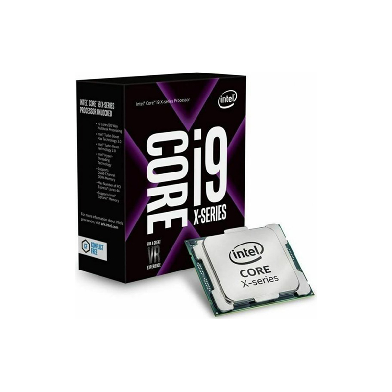 CPU Intel Core i9-10920X Cascade Lake-X (3.5 GHz Turbo 4.6GHz up to 4.8 GHz / 19.25 MB / 12 Cores, 24 Threads)