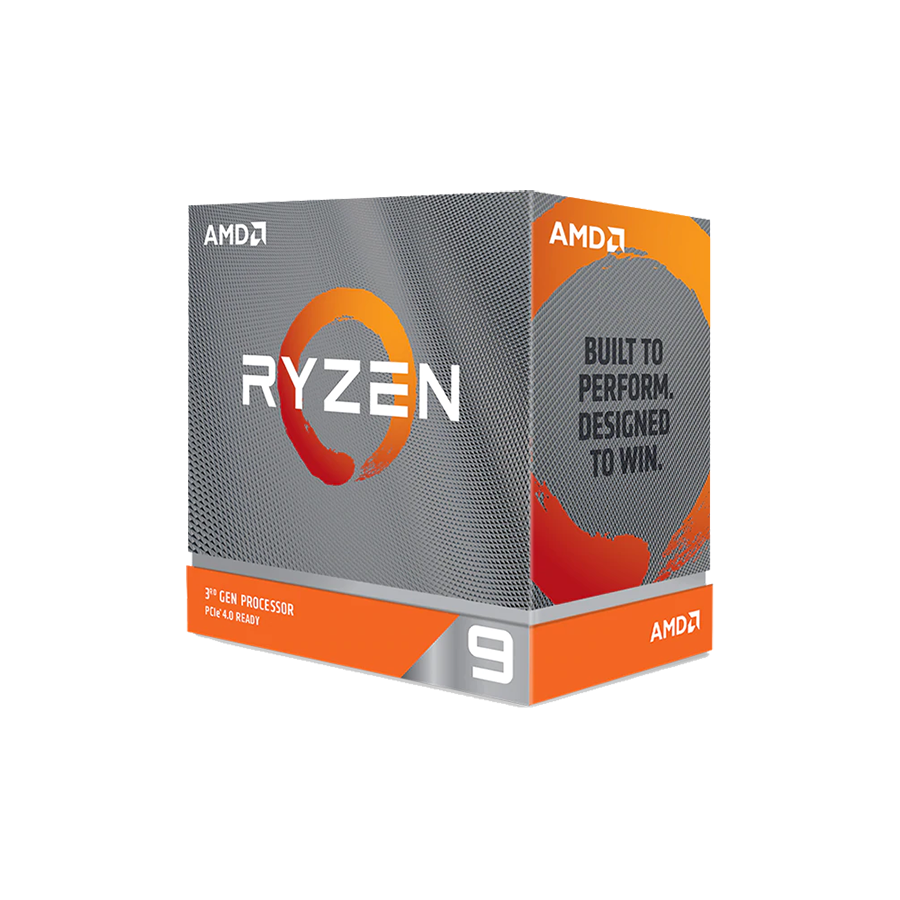 CPU AMD Ryzen 9 3900XT (3.8GHz Boost 4.7GHz /12 cores / 24 threads / 64MB Cache; 105W; Socket AM4)