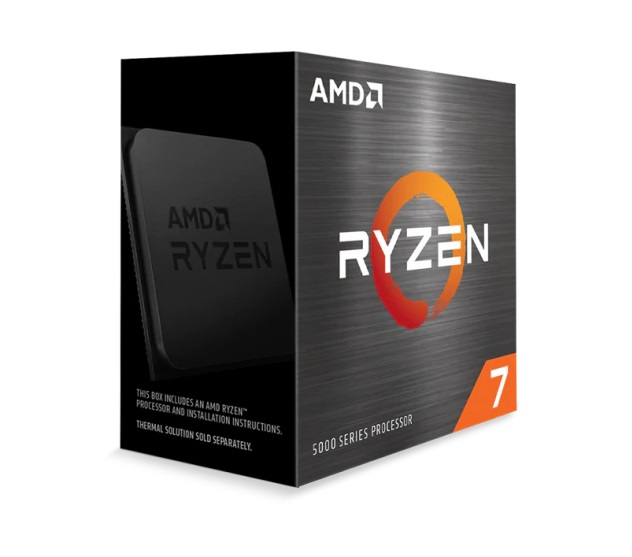 CPU AMD Ryzen 7 5800X (3.8 GHz Upto 4.7GHz / 36MB / 8 Cores, 16 Threads / 105W / Socket AM4)