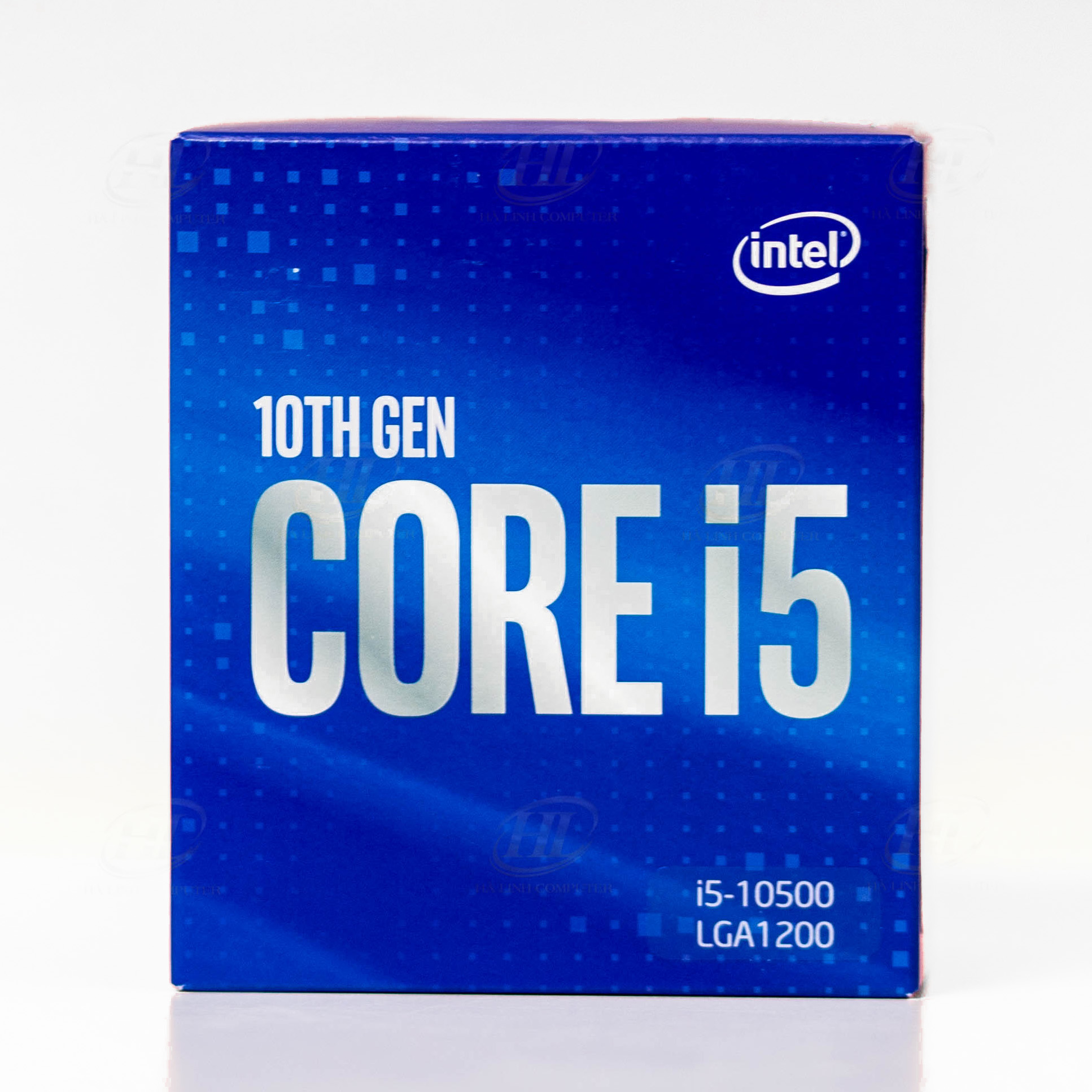 CPU Intel Core i5 10500 (3.1GHz turbo up to 4.5GHz, 6 nhân 12 luồng, 12MB Cache, 65W)