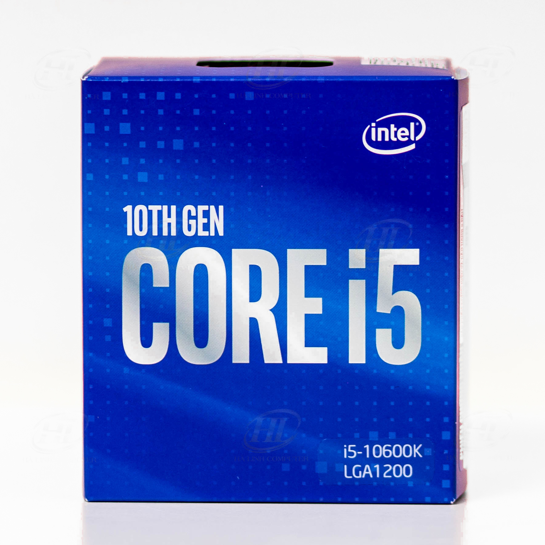 CPU Intel Core i5 10600K (4.1 GHz turbo up to 4.8 GHz, 6 core 12 Threads , 12MB Cache, 125W)