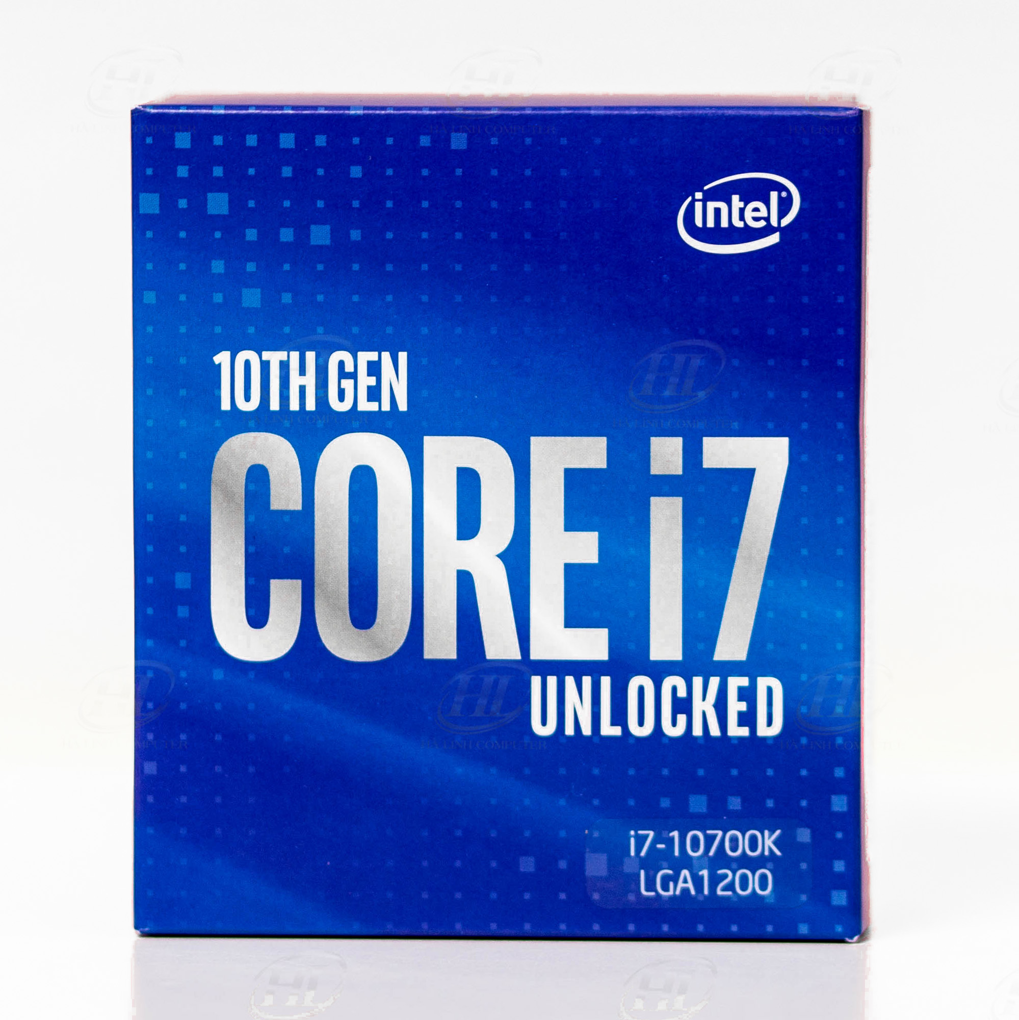 CPU Intel Core i7 10700K (3.8GHz turbo up to 5.1GHz, 8 core 16 Threads , 16MB Cache, 125W)