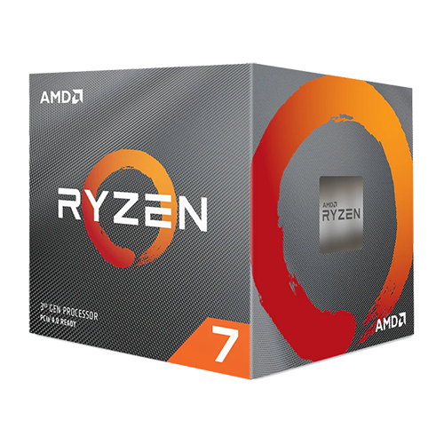 CPU AMD Ryzen 7 3700X 3.6 GHz (4.4GHz Max Boost) / 36MB Cache / 8 cores / 16 threads / 65W / Socket AM4)