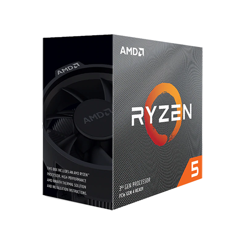 CPU AMD Ryzen 5 3400G 3.7 GHz (4.2 GHz with boost) / 6MB / 4 cores 8 threads / Radeon Vega 11 / 65W/Socket AM4 )