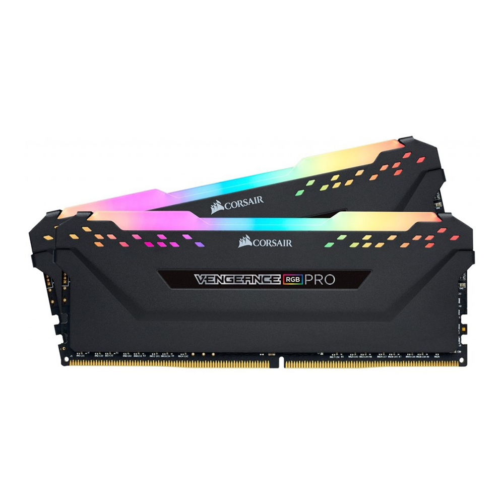 RAM Corsair 16GB (8GBx2) Bus 3000MHz Vengeance RGB PRO Heat Spreader