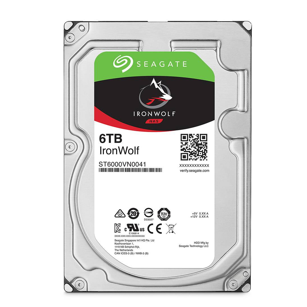 HDD Seagate IRONWOLF 6TB 3.5